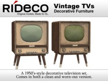 RiDECO - Vintage TV