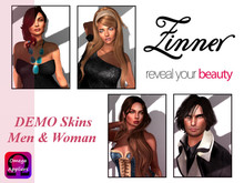 >Zinner< DEMO Skins Men & Woman (Omega Appliers)