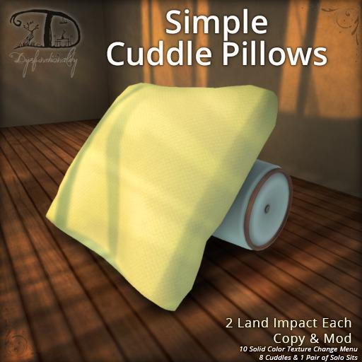 [DDD] Simple Cuddle Pillows (PG)
