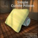 [DDD] Simple Cuddle Pillows (PG)