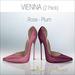 Amacci Shoes - Vienna - Rose/Plum (Maitreya, Slink, Belleza)