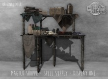 -DRD- Magick Shoppe - Display One