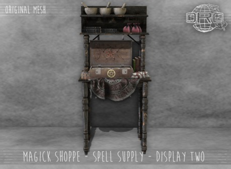 -DRD- Magick Shoppe - Display Two