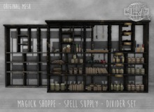 -DRD- Magick Shoppe - Divider Set