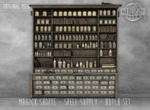 -DRD- Magick Shoppe - Hutch Set