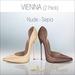 Amacci Shoes - Vienna - Nude/Sepia (Maitreya, Slink, Belleza)