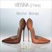 Amacci Shoes - Vienna - Mocha/Bronze (Maitreya, Slink, Belleza)