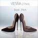 Amacci Shoes - Vienna - Black/Pitch (Maitreya, Slink, Belleza)