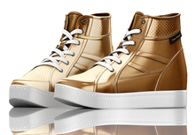 fame femme : Marcy Sport Shoes - Gold