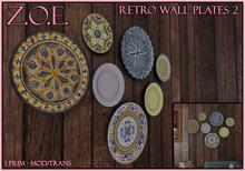 Z.O.E. Wall Plates 2