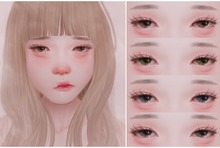 LeMomo: TearDrops Mesh Eyes & Makeup [OMEGA]