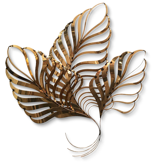 Copper Leaves AAA - beautiful cutout