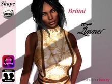 >Zinner< Brittni Skin (Omega Applier) + Shape Bento