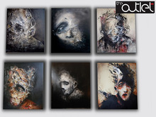 *_*KdS-Arts*_* Psykotisk Paintings