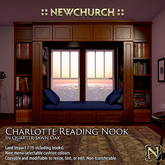 :: N :: Charlotte Reading Nook, Oak