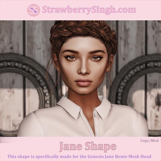 StrawberrySingh.com Jane Shape