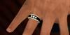 TM Mens Timeless Elegance Wedding Band - BENTO - Left Ring Finger - Color Change - Resize - Brightness