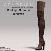 !APHORISM! Molly Boots - Brown