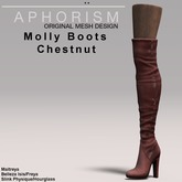 !APHORISM! Molly Boots - Chestnut