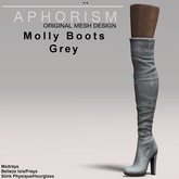 !APHORISM! Molly Boots - Grey