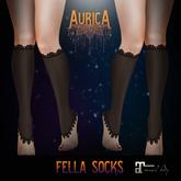 .:AS:. Fella Socks (Black)