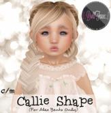 {.: DollFace :.} - Callie Shape (For Alex Bento)
