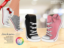 ::MA:: Jackson Bow Tiptoe Sneakers - 50 COLOR PACK