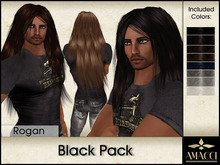Amacci Hair ~ Rogan - Black Pack