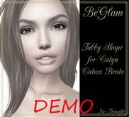 DEMO BeGlam ~ Tabby Shape Catwa Catya Bento Shape DEMO