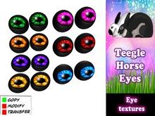 teegle horse eyes - fatpack