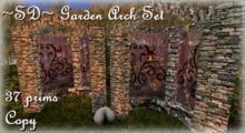 ~SD~ Garden Arch Set