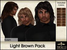 Amacci Hair ~ Sven - Light Brown Pack