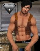 XK Cowboy Vest Brown