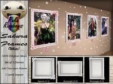 [PR] Sakura Frames - White (Boxed)