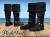 [Phunk] Black Pirate Boots