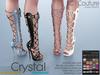 -KC- CRYSTAL BOOTS / MAITREYA, BELLEZA, SLINK, MESHPROJECT