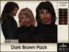 Amacci Hair ~ Sven - Dark Brown Pack