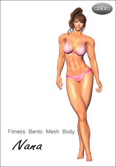 ::dev:: Fitness Nana Bento Mesh Body