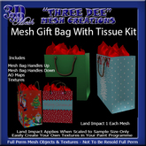 Mesh Gift Bag with Tissue Kit
