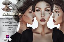 Waldorf Design. Criminal Face Tattoo -BENTO-