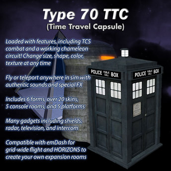 TARDIS Type 70 - Shape-Changing Time Machine