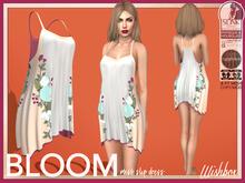 [Wishbox] Bloom Slip Dress (Blush) - Maitreya SLink Physique Hourglass Fitmesh Standard Sizes Mesh Spring Summer Cream