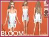 [Wishbox] Bloom Slip Dress (White) - Maitreya SLink Physique Hourglass Fitmesh Standard Sizes Mesh Spring Summer Tunic