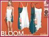[Wishbox] Bloom Slip Dress Teal Maitreya SLink Physique Hourglass Fitmesh Standard Sizes Mesh Spring Summer Beach Tunic