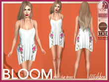 [Wishbox] Bloom Slip Dress Demo - Maitreya Lara SLink Hourglass Physique Standard Sizes Mesh Fitmesh Summer Spring