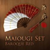 Maiougi Set - Baroque Red