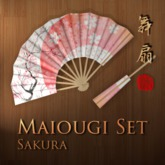 Maiougi Set - Sakura