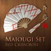 Maiougi Set - Red Crisscross