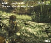 MGS3 Jungle walker