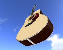 Similar to Martin D45 Guitar (Dreadnought)  // Scripted, Mocap Animated, Riffs, Record or Load Songs, Stool